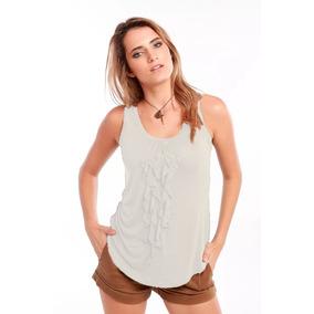 Blusa Blanca Faralados Corbata Saints Clothes