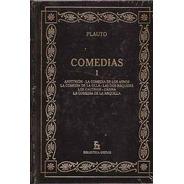 Comedias - Plauto (ed Gredos) 3 Tomos Tapa Dura N°55, 56, 57