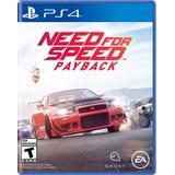 Need For Speed Payback Ps4 Nuevo Original Domicilio