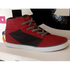 Zapatillas Volcom Grimm Mid Red (num 45!)