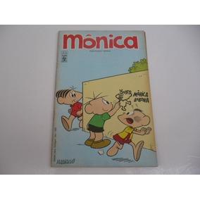 Mônica N.4 1a Edição Agosto De 1970-raríssima Quase Banca