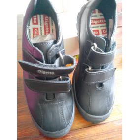 Zapatos Escolares Gigetto Numero 32 Negros Nuevos