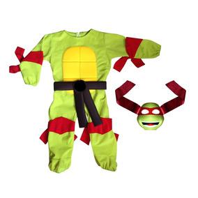 Disfraz Niño Halloween Superheroe Inspirado En Tortuga Ninja