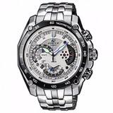 Reloj Casio Ef-550d-7avdf, Edifice, Cronografo, Inoxidable