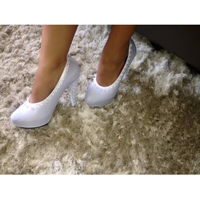 Capa Fashion Para Sapato Meia Pata- Branco Pérola