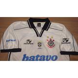 Camisa Do Corinthians Antiga 1999 Topper Rincón Batavo - 78