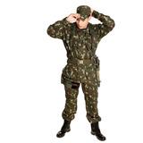 Farda De Combate Rip Stop Camuflada Eb - Loja Militar