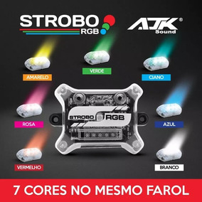 Strobo Rgb (c/control Remoto)