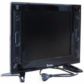 Monitor Tv Lcd 15 Polegadas C/ Hdmi,rca