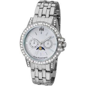 2b301c6fdce Relogio Ana Hickmann Prata Ah20033s - Relógios De Pulso no Mercado ...