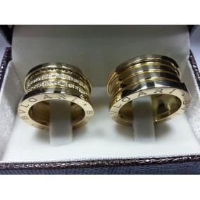 266f8ffa2bd Par Aliança Bvlgari Dourada - Joias e Relógios no Mercado Livre Brasil