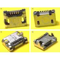 Conector Micro Usb V8 Centro Carga Htc Nokia Sony Tablet -11