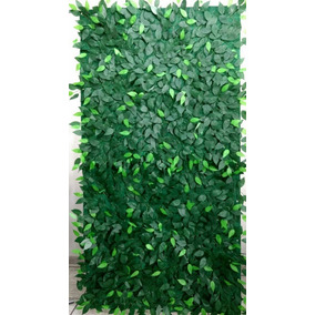Muro Inglês Painel De Folhas De Fícus 2 X 1