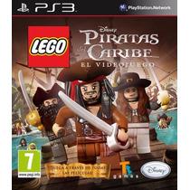 Lego Piratas Del Caribe Ps3