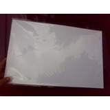 Papel Glase Blanco Doble Carta 100gr Resma 50 Hojas