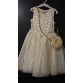 Vestido Niña Nannette Falda Tul Elegante Envio Gratis