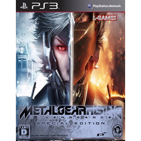 Metal Gear Rising Revengeance Ultimate Edition Ps3 Lgames