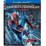 Blu-ray 3d + 2d + Luva O Espetacular Homem-aranha - Orig Nov