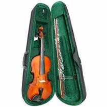 Violin Nobre 4/4 + 2 Arcos+estuche Duro - Poco Uso 190mil