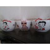 Cerealeros De Ceramica Personalizadas