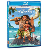 Moana Un Mar De Aventuras Slipcover Blu-ray + Dvd