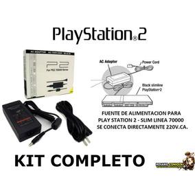 Fuente Sony 220 Playstation 2 Ps2 Psone Slim 7x Trafo 8.5