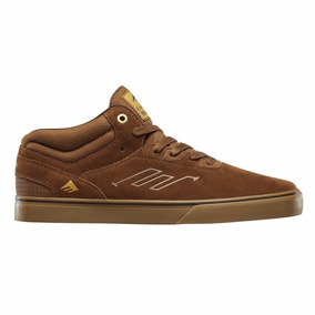 Zapatillas De Skate Emerica Westgate Mid Vulc Brown