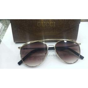 Oculos De Sol Feminino Gucci Marrom