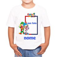 Camiseta Personalizada Patati Patatá Com Foto Pronta Entrega