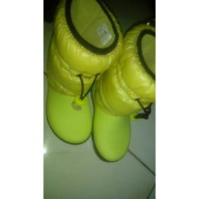 Botas Crocs De Niña