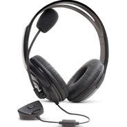 Fone De Ouvido Headset C/ Microfone P/ Xbox 360 Dazz 62110-2