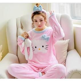 Pijama Afelpada/hello Kitty