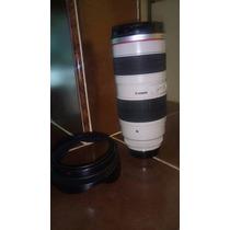 Lente Canon Zoom Lens Ef 70-200mm I:2.8 L Ultrasonic $18000