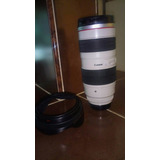 Lente Canon Zoom Lens Ef 70-200mm I:2.8 L Ultrasonic $18000