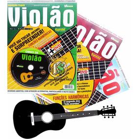 Super Curso Violão 2ª Edição - 3 Revista + 3 Dvd - Promoção