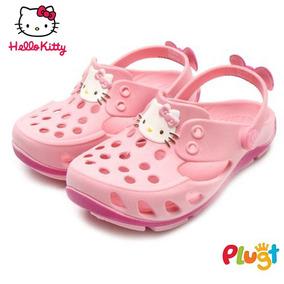 Babuche Sandália Menina Plugt Hello Kitty Tam 19/20