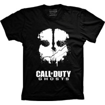 Camisetas Call Of Duty Ghosts Vide Game Jogo Gosts Camisa