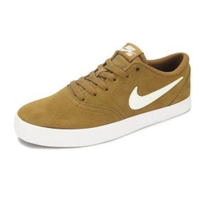 Tênis Nike Sb Check Solar Bege - 843895-212