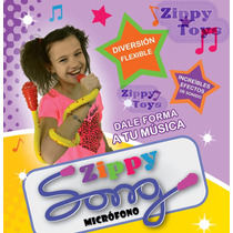 Microfono Flexible Zippy Song Inalambrico Efectos Original