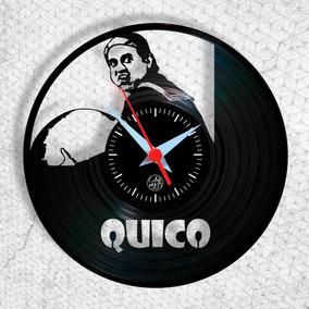 Quico - Chaves - Relógio De Parede - Vinil - Arte No Lp