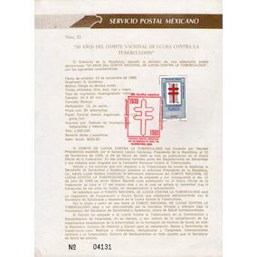 México, Hojilla, Comite De Lucha Contra La Tuberculosis 1989