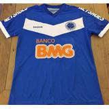 Camisa Cruzeiro Usada Jogo 2011 Roger Autografada