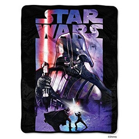 Lucas Películas Star Wars Darth Noche Micro Raschel Manta-by