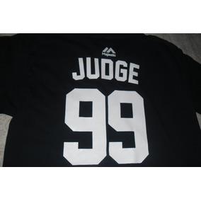 Playera Jersey Mlb New York Yankees Aaron Judge