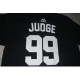 Playera Jersey Mlb New York Yankees Aaron Judge
