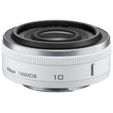 Nikon 1 Nikkor 10mm F/2.8 (white)