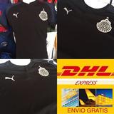 Nueva Playera Jersey Chivas 2018 Negra Visita Envío Dhl Grat