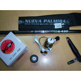 Caña Combo Red Fish Nueva Palmira 4.20 + Reel Af2000 5bb