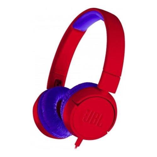 Audífonos JBL JR300 rojo