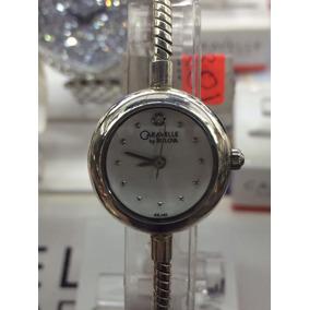 310f53e191d7 Reloj Caravelle By Bulova Dama Caja De Plata ¡oferta!